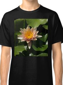 Exotic Colors - A Soft Coral Waterlily Classic T-Shirt