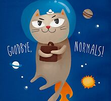 Goodbye, normals! by solarlullaby