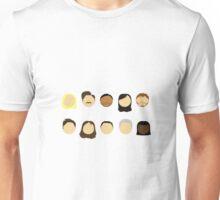Parks & Rec Cast Unisex T-Shirt