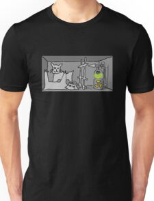 Schrodinger's cat, quantum mechanics Unisex T-Shirt
