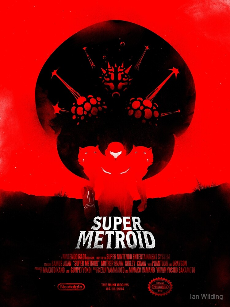 Super Metroid by Ian Wilding