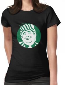 Trump Cup Make Coffee Great Again Womens Fitted T-Shirt