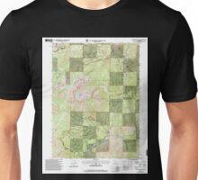 USGS TOPO Map California CA Tangle Blue Lake 101236 1998 24000 geo Unisex T-Shirt