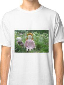 Margret and Rabbit Rag Doll #1 Classic T-Shirt
