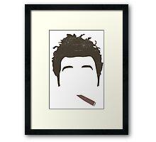 Cosmo Kramer Silo - Cigar - Seinfeld Framed Print