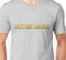 Notre Dame Unisex T-Shirt