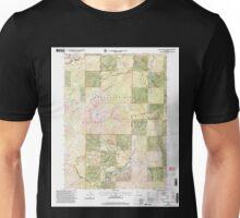 USGS TOPO Map California CA Tangle Blue Lake 295385 1998 24000 geo Unisex T-Shirt