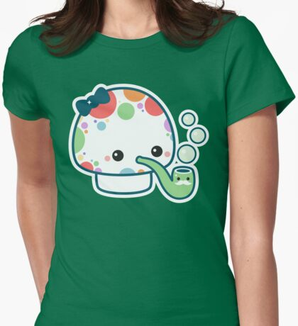 Cute Mushroom with Pipe T-Shirt