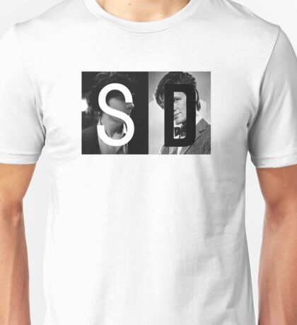 SD : Sherlock and Doctor Who Unisex T-Shirt