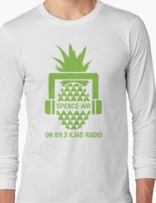 """""""Spence-Air"""" Psych Radio Show w/ Shawn Spencer Long Sleeve T-Shirt"""