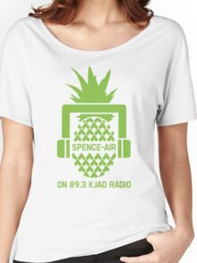 """Spence-Air"" Psych Radio Show w/ Shawn Spencer Women's Relaxed Fit T-Shirt"
