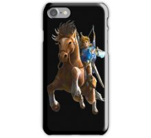 Link On Horse Dark iPhone Case/Skin