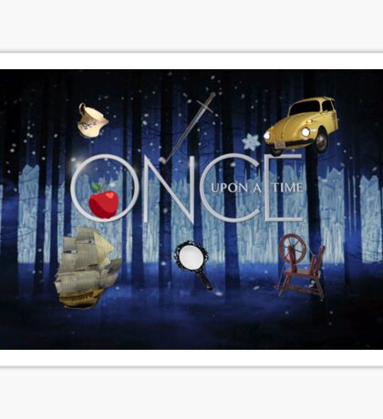 ONCE UPON A TIME new! Sticker