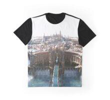 Final Fantasy City Graphic T-Shirt