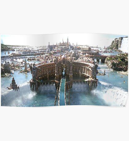 Final Fantasy City Poster