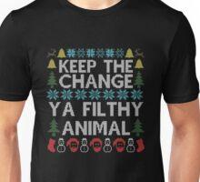 Keep The Change Ya Filthy Animal Christmas Unisex T-Shirt
