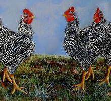 The Barn Yard Girls by Sandra  Sengstock-Miller