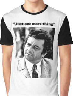 "Columbo - ""Just one more thing"" Graphic T-Shirt"