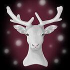 The Snowy Reindeer by AlexMathews