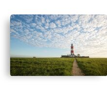 Happisburgh Lighthouse, Norfolk, UK. Canvas Print