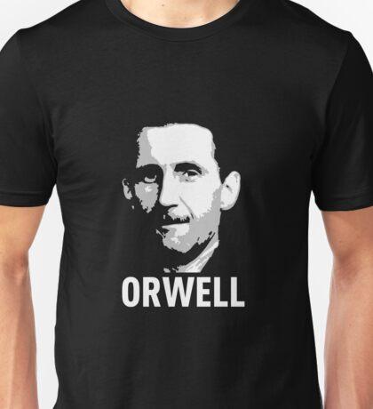 Orwell (on Black) Unisex T-Shirt