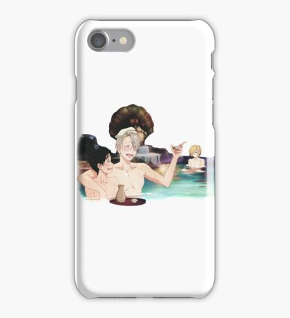 Yuri On Ice - Onsen iPhone Case/Skin