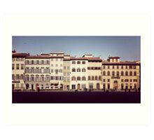 Piazza de Pitti Art Print