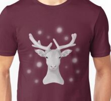 The Snowy Reindeer Unisex T-Shirt