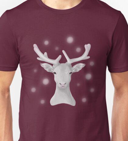 The Snowy Reindeer Unisex T-Shirt