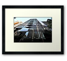 Level & Layers, Sydney, Australia 2013 Framed Print