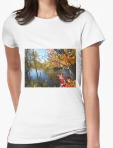Fall River Reflection Womens Fitted T-Shirt