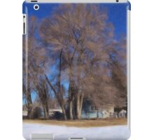 Winter Emerging iPad Case/Skin