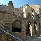 Roman Amphitheatre, Orange, France, Europe 2012 by muz2142