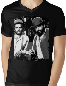 Terence Hill & Bud Spencer - Italian actors Mens V-Neck T-Shirt