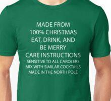 Christmas Care Instructions Unisex T-Shirt