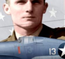 2nd Lt Kenneth Ambrose Walsh  Sticker