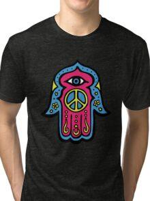 Peace Khamsah Tri-blend T-Shirt