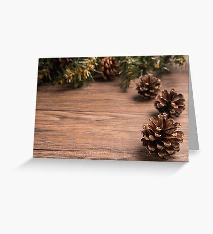 Christmas border design Greeting Card