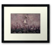 Escaping the rat race Framed Print