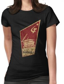 CCCP Lunokhod 1 Womens Fitted T-Shirt