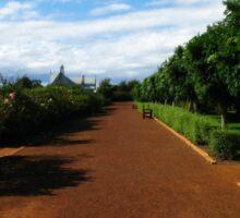 A Walk in the National Rose Garden - Tasmania Sticker