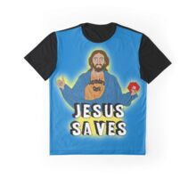 Jesus playing DnD Graphic T-Shirt
