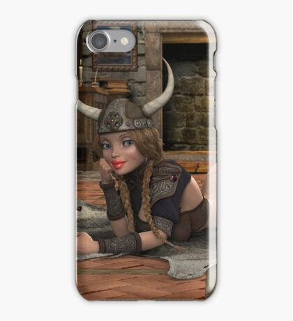 Viking Woman  iPhone Case/Skin