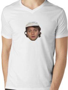 mac demarcos awful dumb face Mens V-Neck T-Shirt