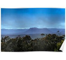 Early Morning over the Capertee Valley Poster
