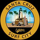 Surf City Santa Cruz Lighthouse by Frank Schuster