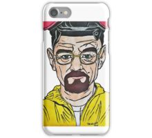 Walter White from Breaking Bad by Pandora Fox  iPhone Case/Skin