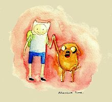 Adventure Time finn and jake so cool by ferteban