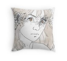 Sometimes I Can't Remember How Many Eyes I Have Throw Pillow