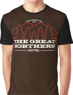 The Hotel of Twin Peaks Graphic T-Shirt